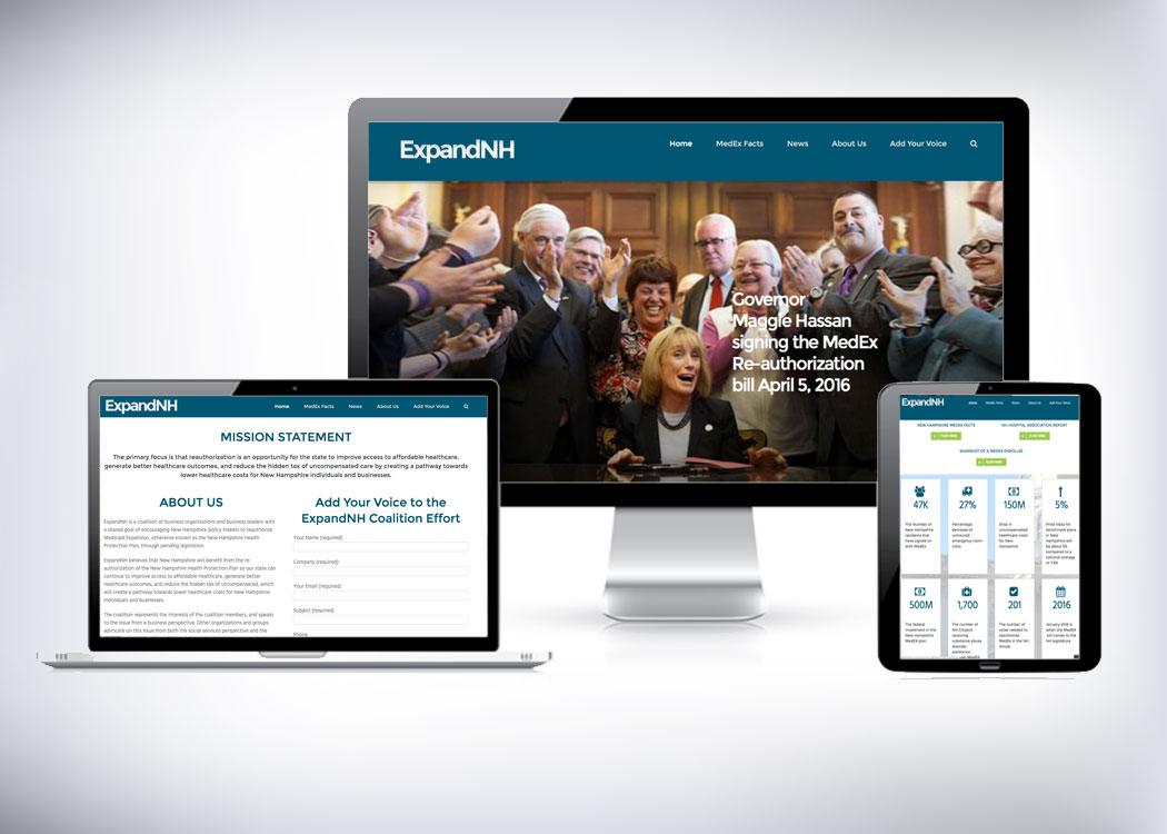 ExpandNH WordPress Website